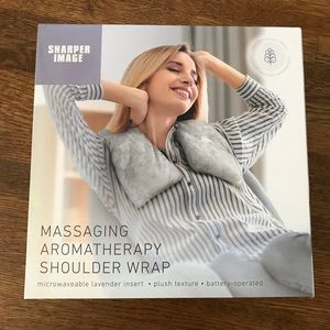 Sharper Image Massaging Aromatherapy Shoulder Wrap
